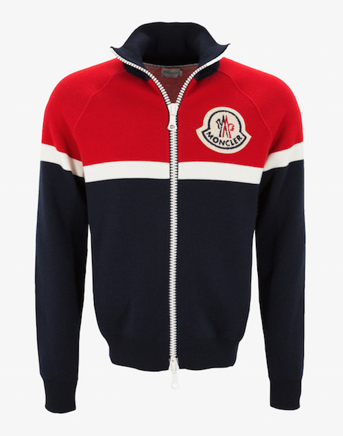 moncler a zip up sports top