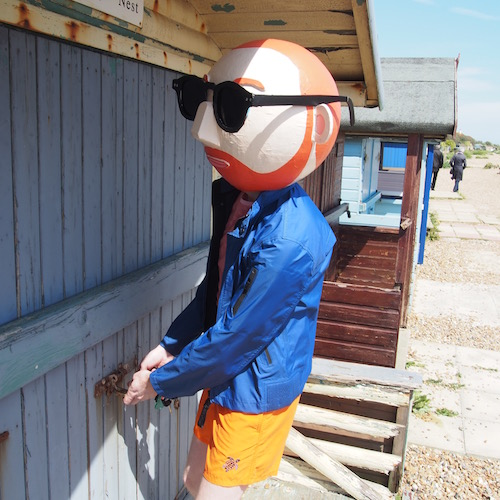 The Chic Geek opens his beach hut