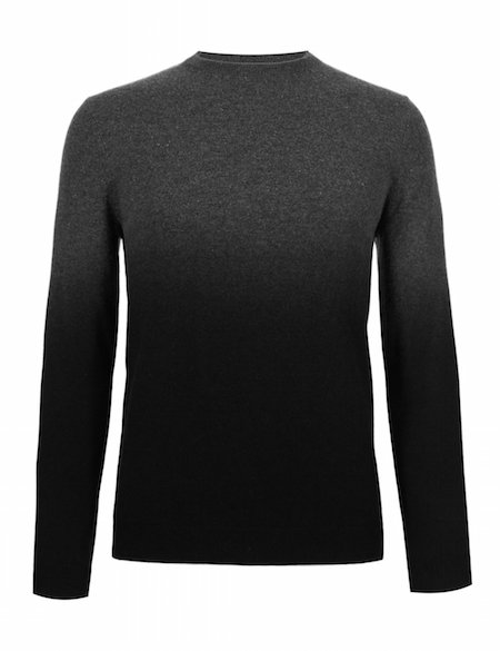 marks and spencer autograph grey cashmere jumper sweater chic geek