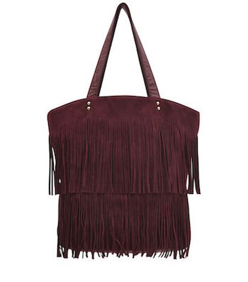 New Look fringed men's bag