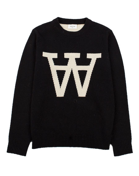 Wood Wood Yale Sweater the chic geek