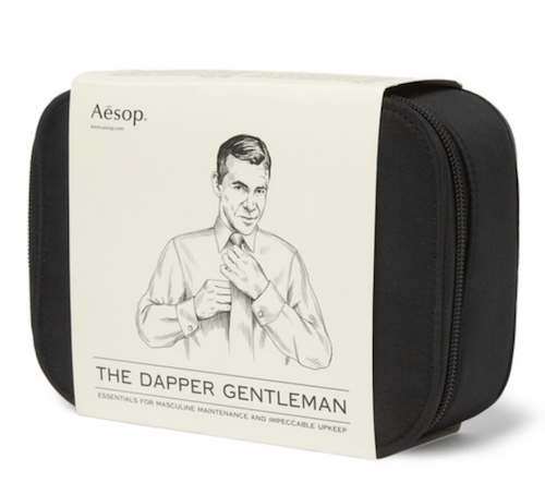 Aesop gentleman's grooming kit