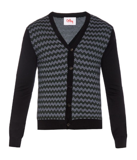 Orley striped men's cardigan