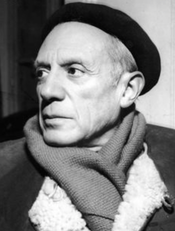 Picasso in beret the chic geek