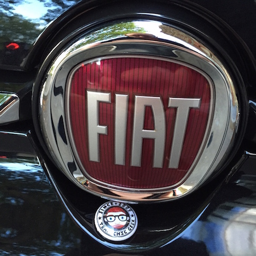 Fiat 500 Chic Geek new car