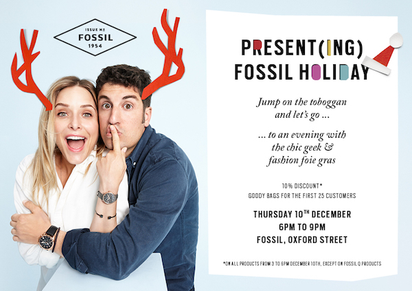 fossil the chic geek blogger event