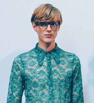 gucci menswear geek chic spectacles