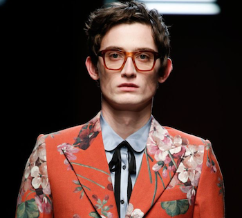 gucci glasses menswear spring 2016 the chic geek