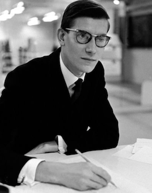 yves saint laurent style icon geek chic