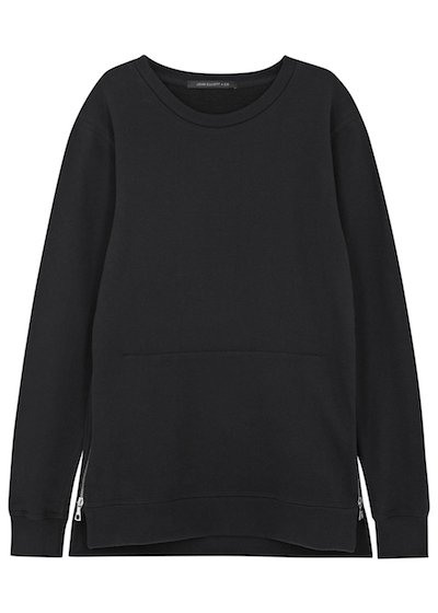 john elliott sweater black harvey nichols the chic geek