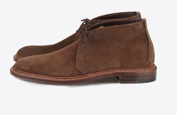 Alden Chukka boot Trunk Clothiers