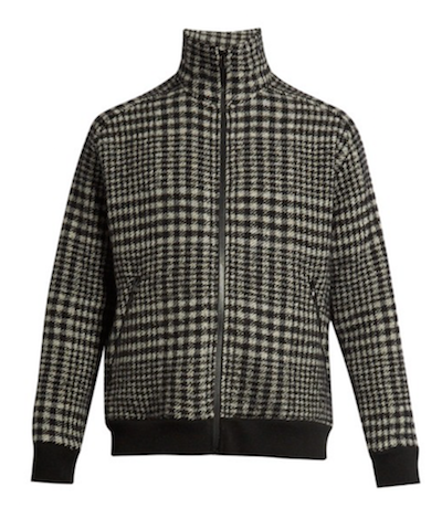 prince of wales checked jacket raey