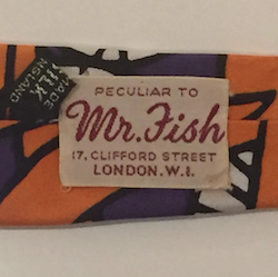 Mr Fish kipper tie