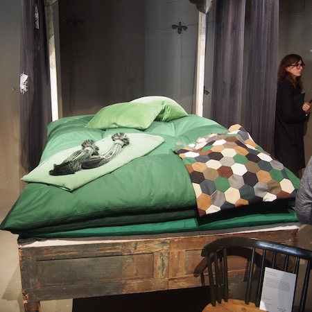 Nancy Lancaster's bed burberry