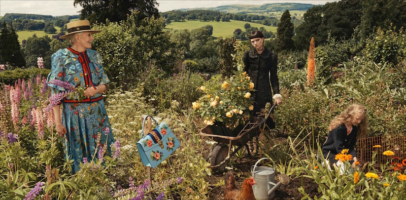 gucci cruise chatsworth vanessa redgrave glen luchford