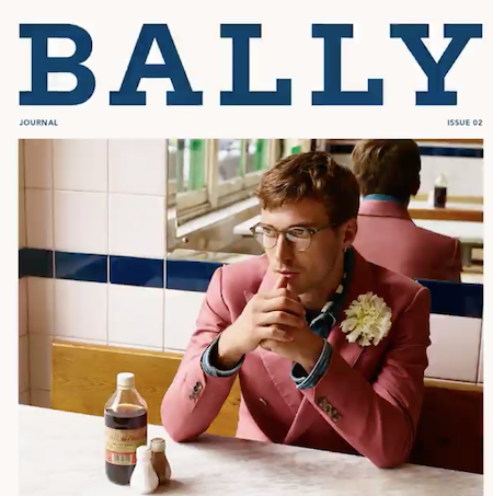 bally flower corsage menswear s16 the chic geek