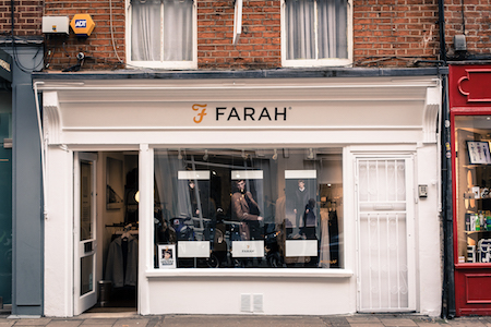 farah menswear covent garden