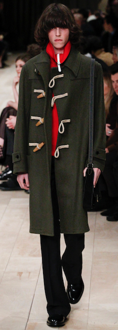 aw 16 menswear trends burberry 70s hair