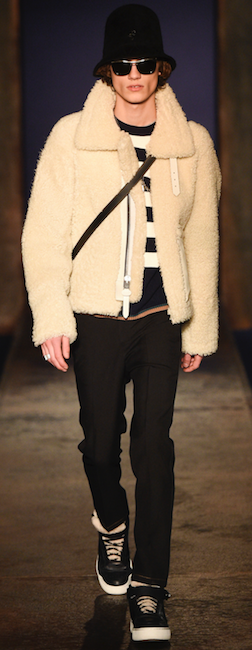 menswear trends aw16 coach sheepskin