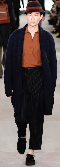 menswear trends aw 16 oliver spencer copper colour