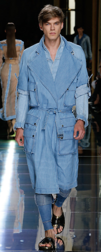 menswear trends eighties denim spring 2017