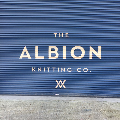 Albion knitwear made in London