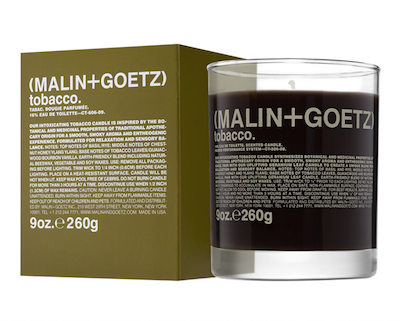 candle tobacco malin goetz london
