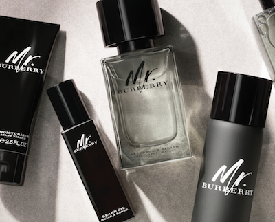 mr burberry grooming range