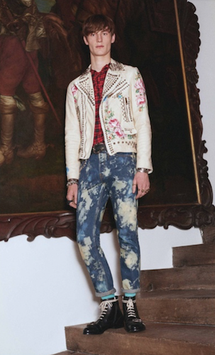 menswear cruise 17 gucci punk jeans