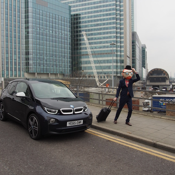 bmw i3 the chic geek cross rail elizabeth line canary wharf