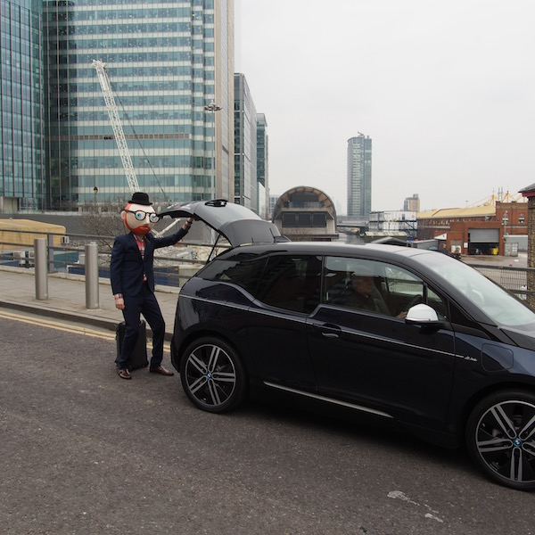 bmw i3 electric car the chic geek ootd