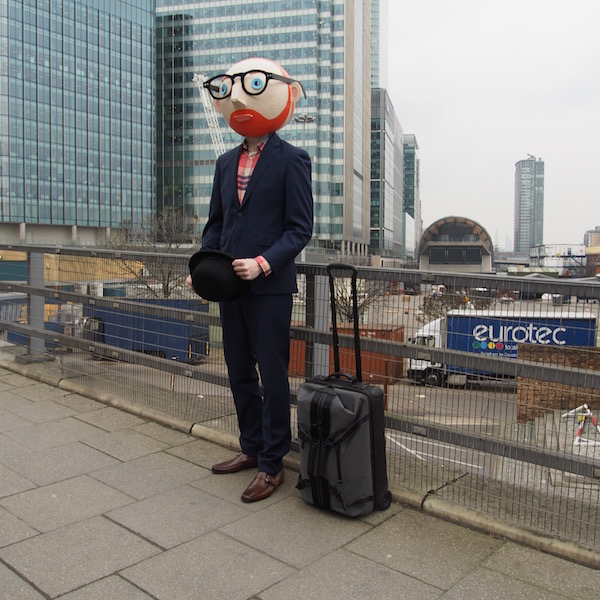 the chic geek ootd canary wharf bmw i3 mr porter