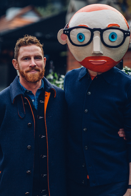 Ginger twins men males marylebone chiltern firehouse doorman