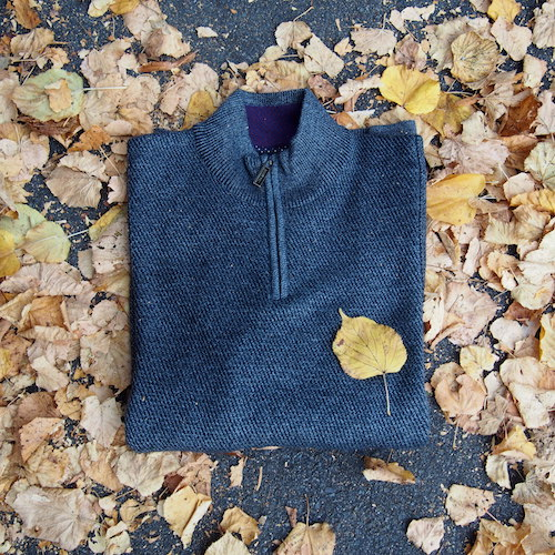 funnel neck grey jumper Ted Baker