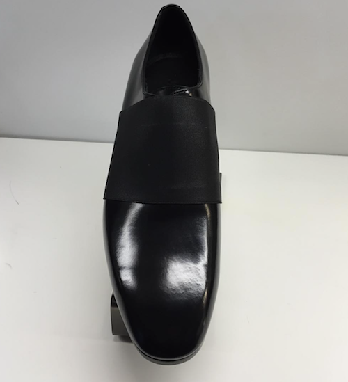 jimmy choo men's black shoes elastic