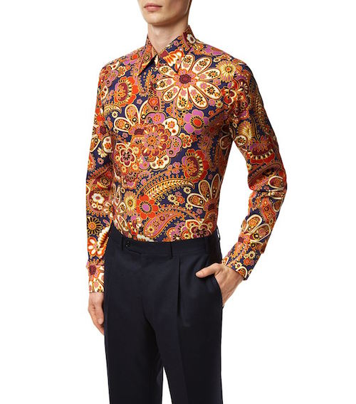 Tom Ford menswear harrods psychedelic shirt