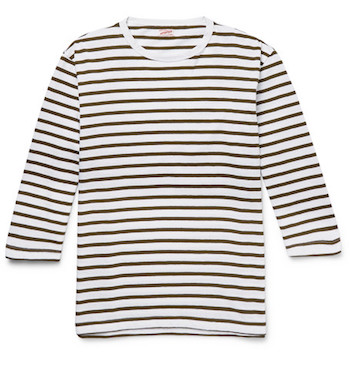 Breton striped top mens Arpenteur Mr Porter The Chic Geek