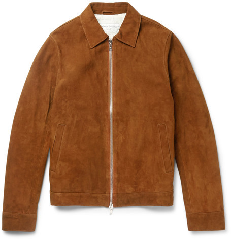 Mens suede jacket Officine Generale