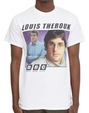 Top Menswear AW17 The Idle Man Louis Theroux T-Shirt