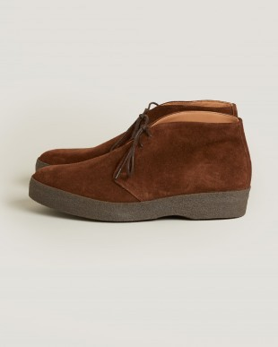 Top Menswear AW17 Trunk Clothiers Sanders suede chukka boots