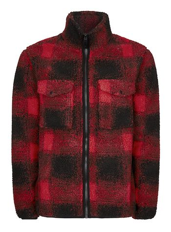 Topman Borg Fleece is the menswear material of the season The Chic Geek