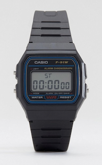 Call Me By Your Name Get The Look Menswear Casio digital watch