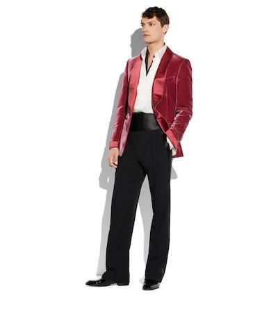 menswear Christmas wish list Tom Ford velvet dinner jacket