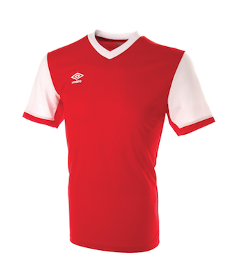 Red Football shirt Umbro