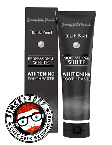 Review Beverly Hills Formula Black Pearl Teeth Whitening Toothpaste
