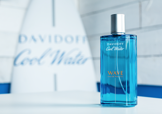 Review Cool Water Davidoff Wave Fragrance Men's Cornwall Surfing Chic Geek