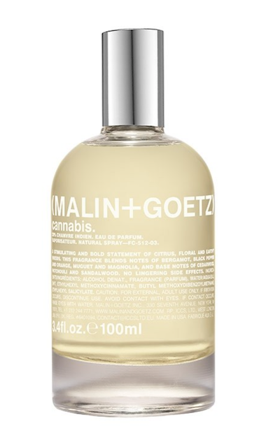 Review Cannabis Malin Goetz men's fragrance The Chic Geek men's grooming expert