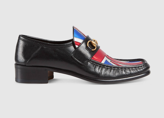 Loafer Gucci Union Jack