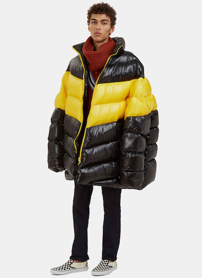 how to wear a parka mens