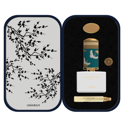 Floraiku Harrods Salon de Parfums Fragrance Bento Box Packaging